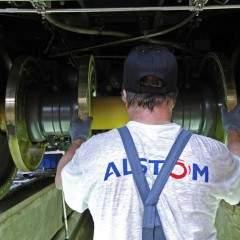Avis de gros temps sur Alstom