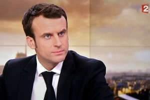 ECONOMIE - BUDGET - PROJET DE LOI BUDGETAIRE - PROJET DE LOI MACRON - GOUVERNEMENT - 49.3 - ASSEMBLEE NATIONALE. Nancy 17 février 2015. Emmanuel MACRON, ministre de l'Economie, de l'Industrie et du Numérique, est invité sur le plateau du journal télévisé de 20h00 de France 2 pour expliquer pourquoi le Premier ministre Manuel VALLS a engagé la resposabilité de son Gouverment en utilisant l'article 49.3 pour faire passer le projet de la loi Macron à l'Assemblée Nationale. CAPTURE D'ECRAN Alexandre MARCHI.