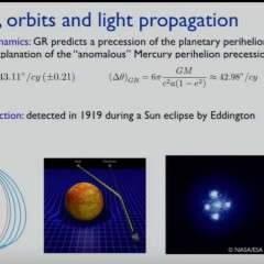 Mercure, Einstein, et la relativité générale (2)