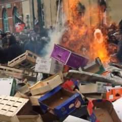 Rennes : des scènes de guérilla urbaine