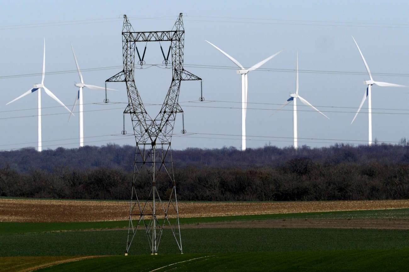 Le parc éolien français à nouveau à l'arrêt
