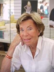 Benoîte Groult, romancière et journaliste à la Comédie du Livre à Montpellier en 2010.