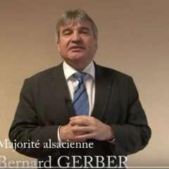 Bernard Gerber, président de la Commission locale de l'eau du SAGE ILL-NAPPE-RHIN