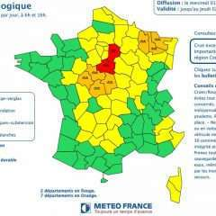 La France sous les eaux