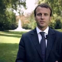 Macron candidat à l'Elysée