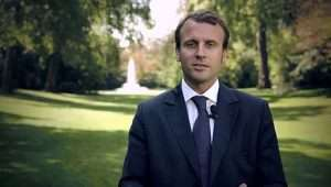 Emmanuel Macron, ministre de l'Economie, en septembre 2014