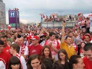Fan zone Euro 2012 Varsovie