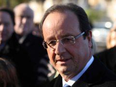 François Hollande, aux cérémonies du 11 novembre 2013