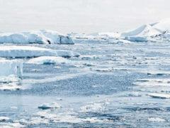La banquise qui fond, conséquence du réchauffement climatique