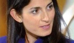 Virginia Raggi, candidate du Mouvement 5 Etoiles, élue maire de Rome dimanche 18 juin
