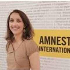 Camille Blanc présidente d'Amnesty International France