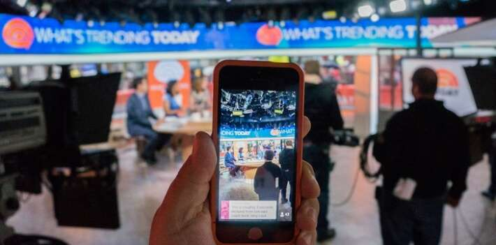 Periscope, application de Twitter qui permet de filmer en direct. Source : Jisc