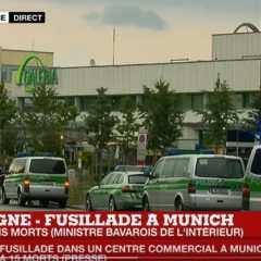 Fusillade à Munich : au moins 8 morts