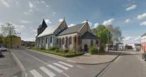 l'église de saint-Etienne-du-Rouvray (Seine- Maritime)
