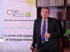 patrick Tassin, président du CESER Grand Est