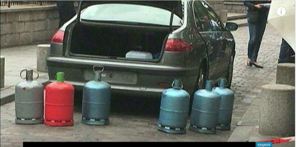 Bonbonnes de gaz : un commando féminin