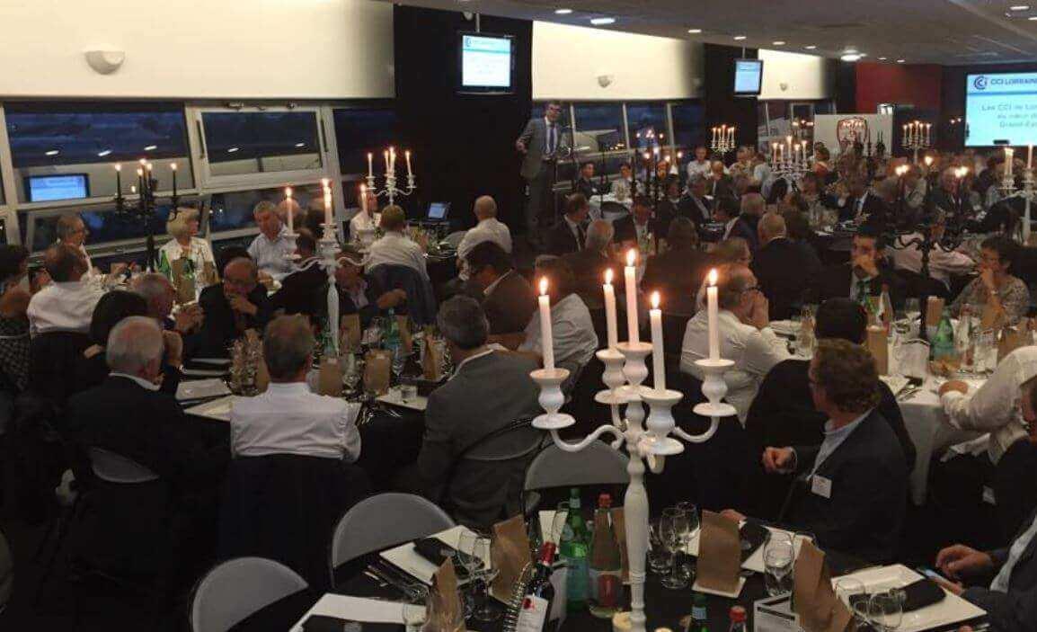 CCI 54 : Richert au dîner de l'entreprise