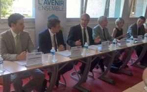 conférence de presse de rentrée de Philippe Richert