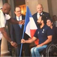 Jeux paralympiques : la flamme est rallumée
