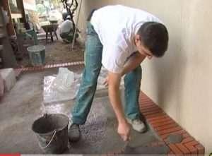 Le travail du maçon