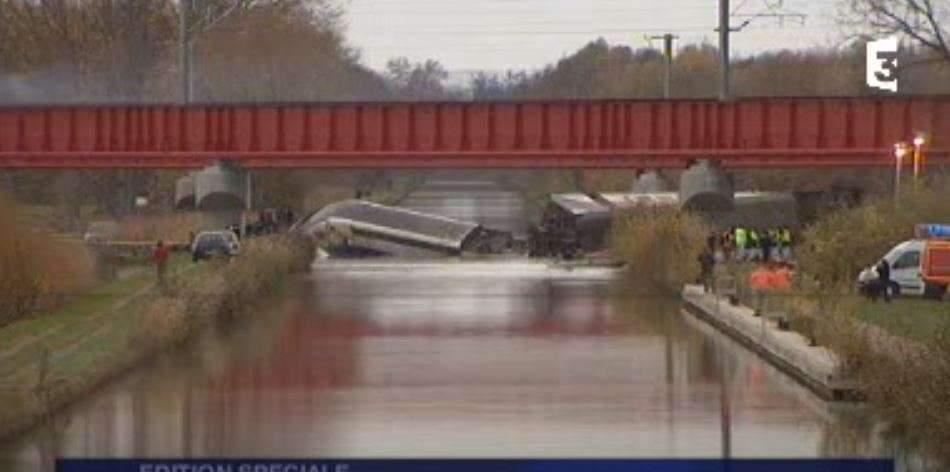 Déraillement du TGV-ESt : 11 morts