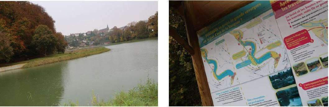 Plan d'eau de la Sangsue à Briey