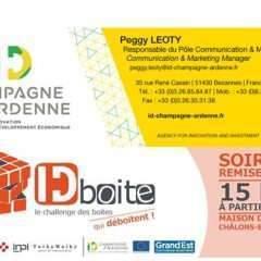 15 projets innovants en lice pour « ID Boite », le challenge lancé par ID Champagne-Ardenne