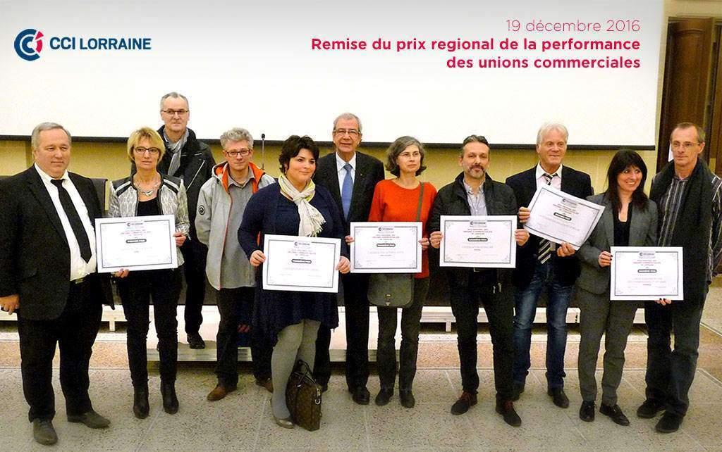 Lorraine : les Unions commerciales récompensées