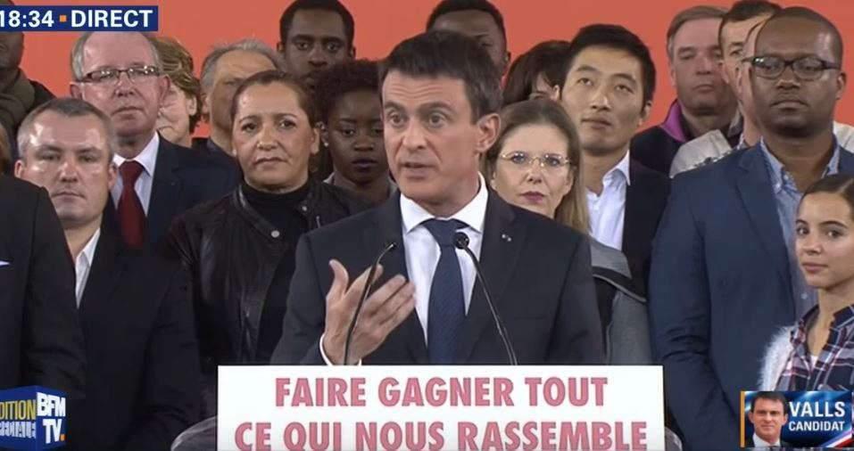 « Oui, je suis candidat à la présidence de la République » (Manuel Valls)