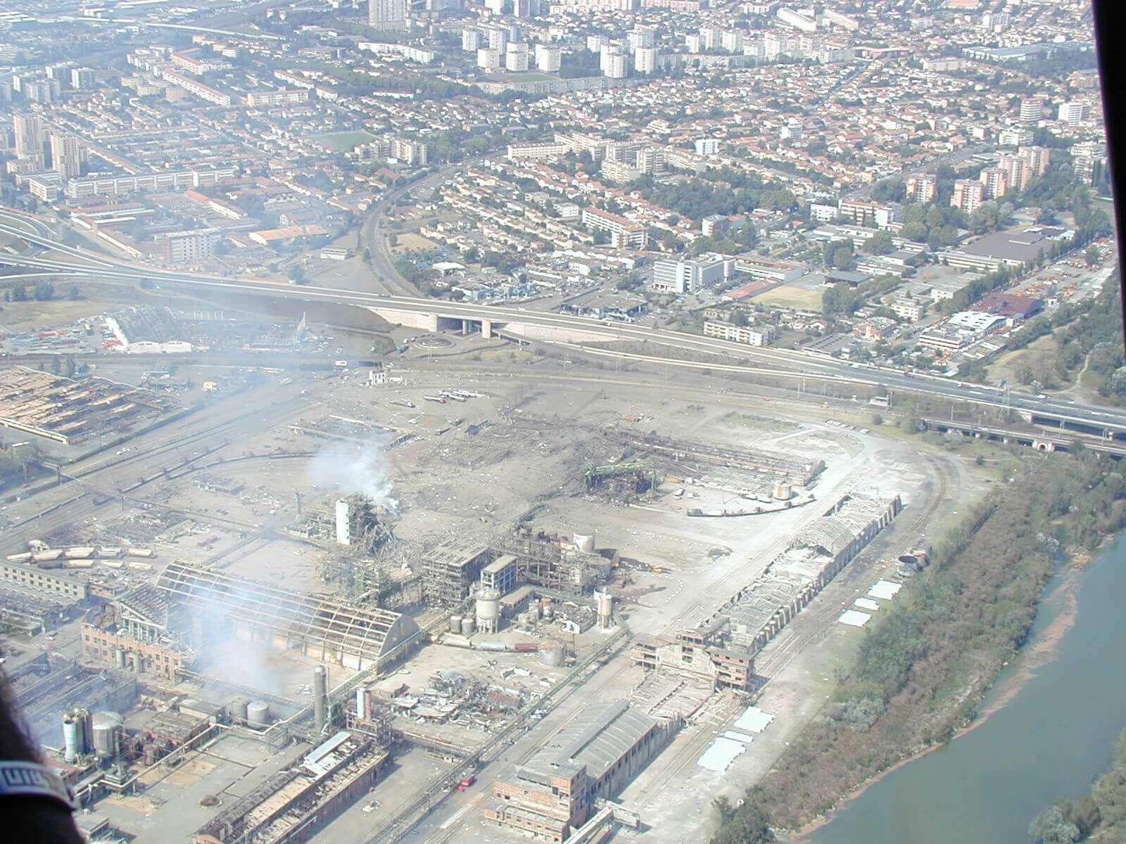 Explosion AZF Toulouse 21 septembre 2001