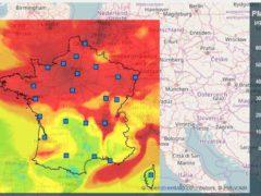 la pollution de l'air s'aggrave