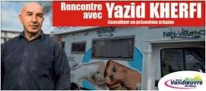 le livre de Yazid Kherfi, présenté par l'auteur à Vandoeuvre