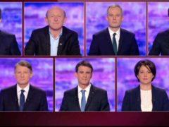 les-sept-candidats-se-sont-observes