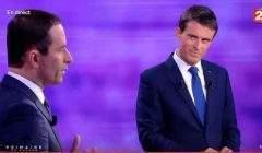 Débat Valls/Hamon