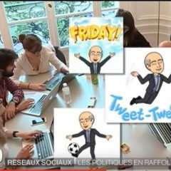 Les cinq principaux candidats à l'aune du web et des réseaux sociaux