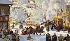 image de l'hiver en Russie