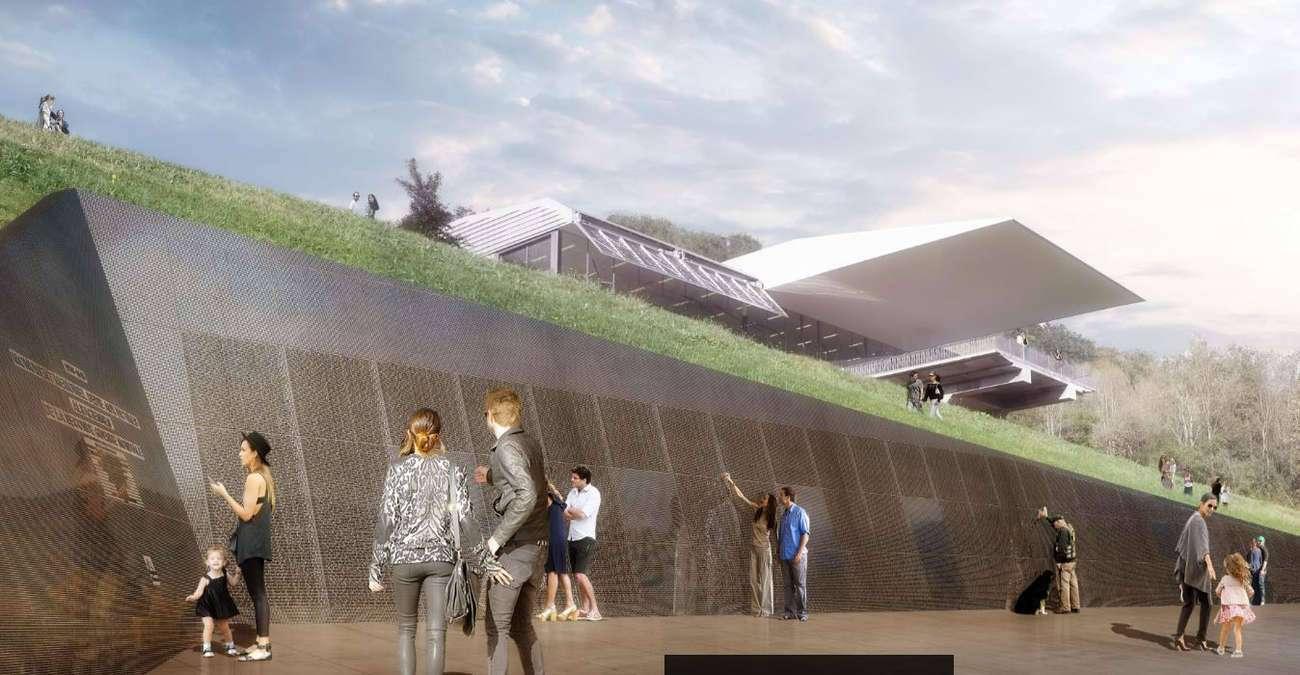 La Région présente l'avant-projet « Mur des noms »