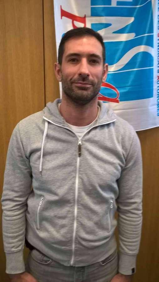 Yves Milla, secrétaire zonal de l'UNSA-Police