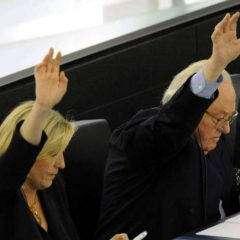 Marine Le Pen, Œdipe et le meurtre du père