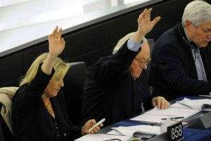 Les Le Pen au Parlement européen