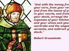 Robert Grosseteste, évêque du 13ème siècle