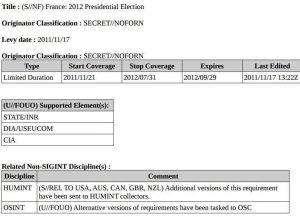 document révélé par WikiLeaks