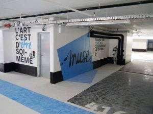 Muse, 750 places réservées aux commerces