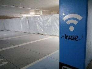 Muse propose le wifi dès l'arrivée au parking