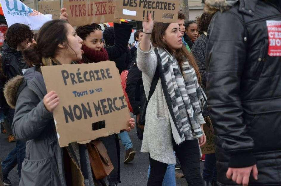 Manifestation contre la loi El Khomri à Paris, 2016. Jeanne Menjoulet & Cie/Flickr, CC BY-SA