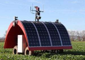 Ce robot agricole totalement autonome surveille les cultures nuit et jour pour optimiser les rendements ABC.net.au