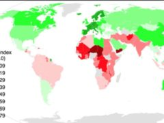 Gender Inequality Index 2014. Kamalthebest/Wikipedia, CC BY-SA