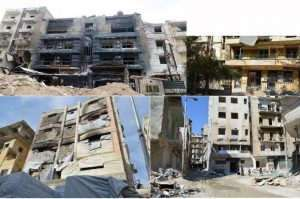De gauche à droite, les cliniques de Zarzour, Zahraa, Machhsad, Daqqaq