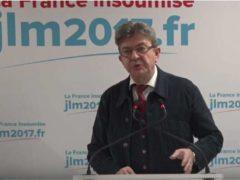 Jean-Luc Mélenchon utilise sa chaine sur Youtube