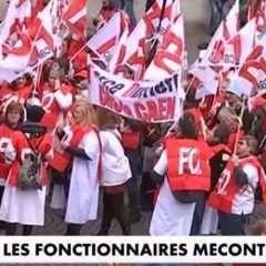 Mardi: grèves et manifs